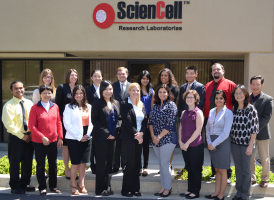 Scientists from Carlsbad based biotech company volunteer to judge an annual San Diego Science Fair