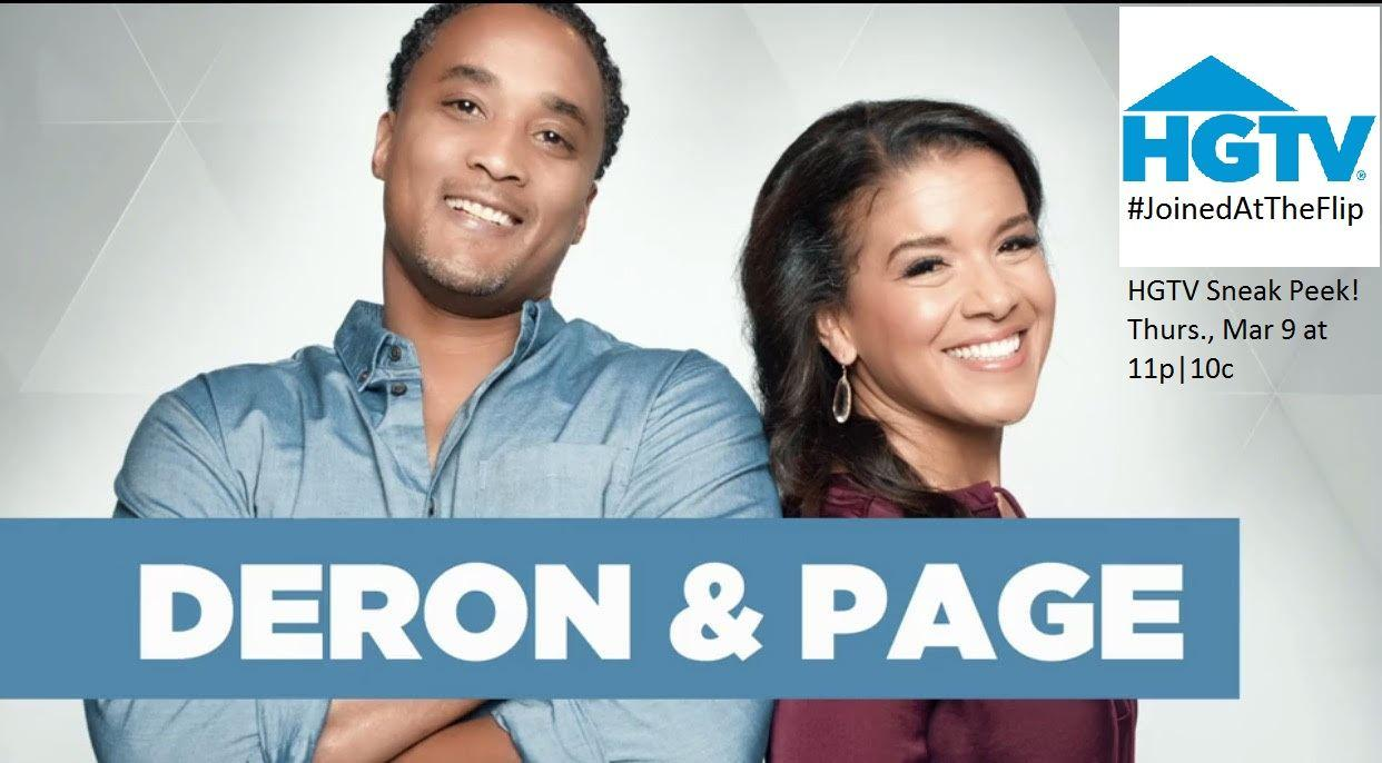 """""""Joined at the Flip"""" premieres on HGTV – Thursday, March 9, 2017 at 11 pm est 