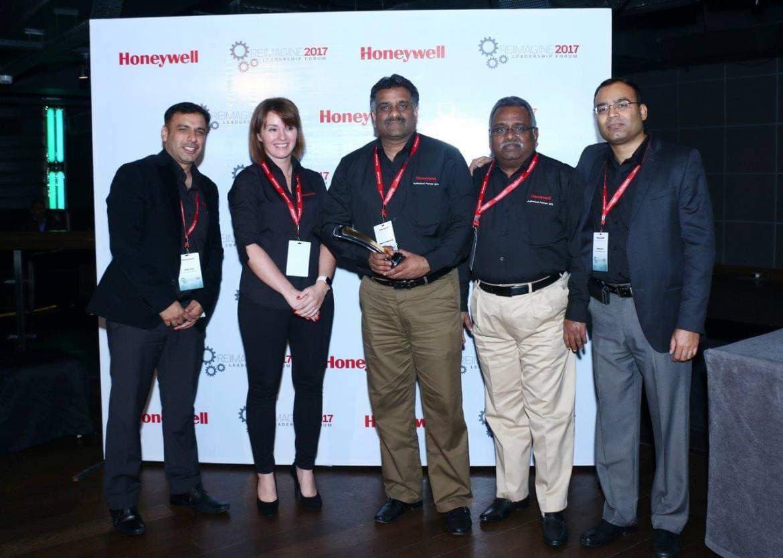 Millennium India Bags Best Partner Award 2016 from Honeywell