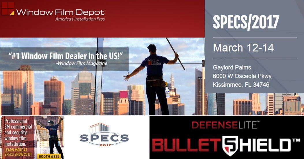 Will you be attending SPECS 2017?