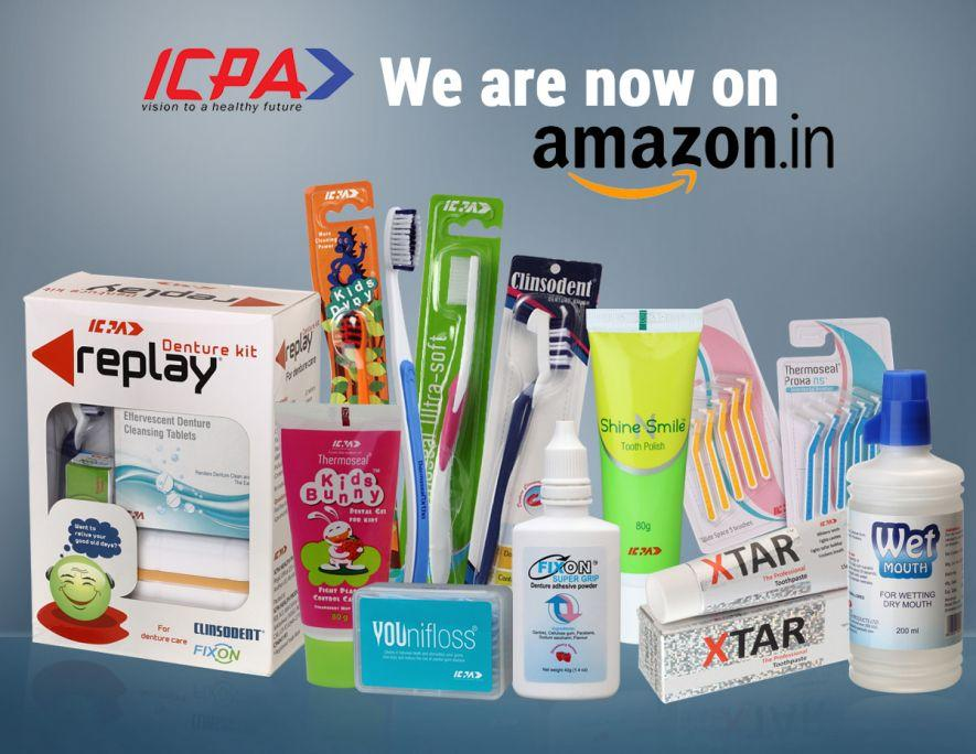 ICPA Announces Availability of Its Healthcare Products on Amazon.in!