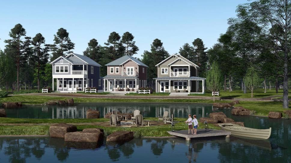 Long Cove Unveils Plans for New Porch Homes