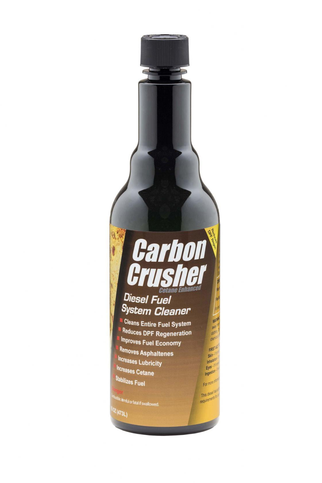 Carbon Crusher is a Complete Fuel System Cleaner from E-ZOIL