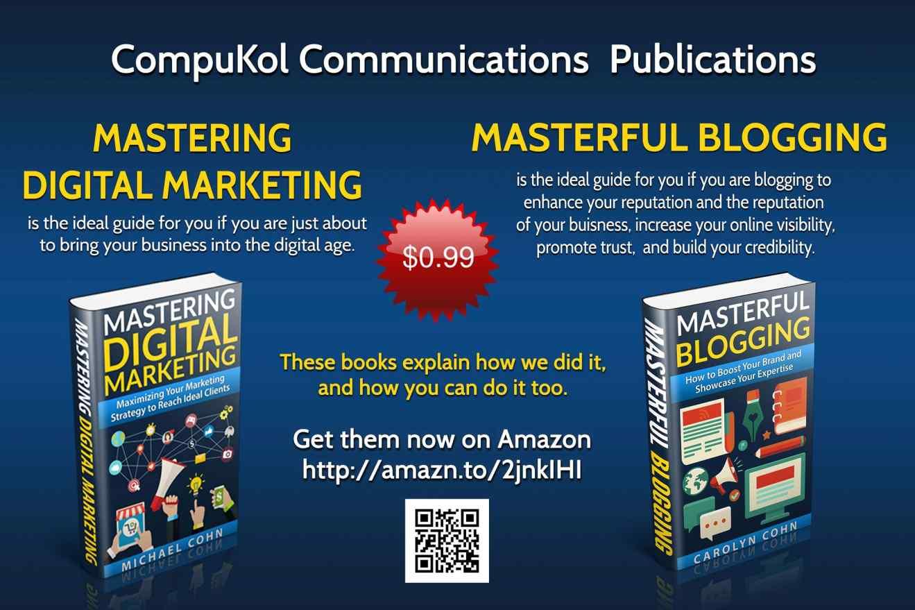 CompuKol Communications Announces Spring 2017 Books Promotion