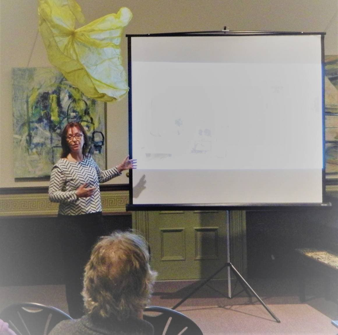 """Liz McCarron Team seminar """"preparing your home for sale"""" draws good crowd at James Library, Norwell"""