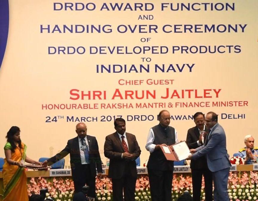 Mistral conferred with the Prestigious Defence Technology Absorption Award from DRDO