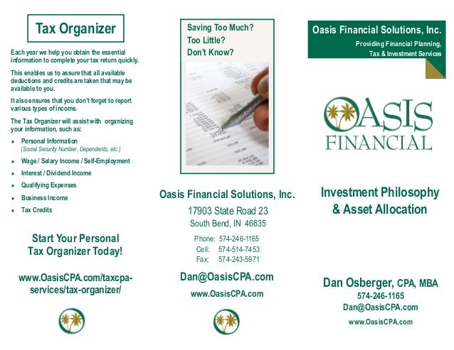 New Fiduciary Rule Backed By Oasis Financial Solutions Inc, Granger, South Bend, Elkhart, Mishawaka