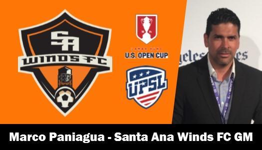 Santa Ana Winds FC Name Marco Vinicio Paniagua Gutiérrez as General Manager
