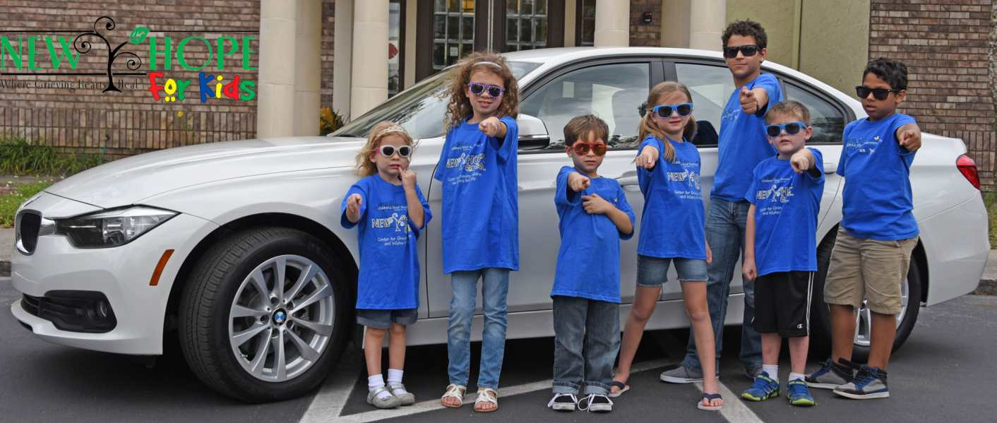 A Chance to Win A 2017 BMW Proceeds benefit New Hope for Kids