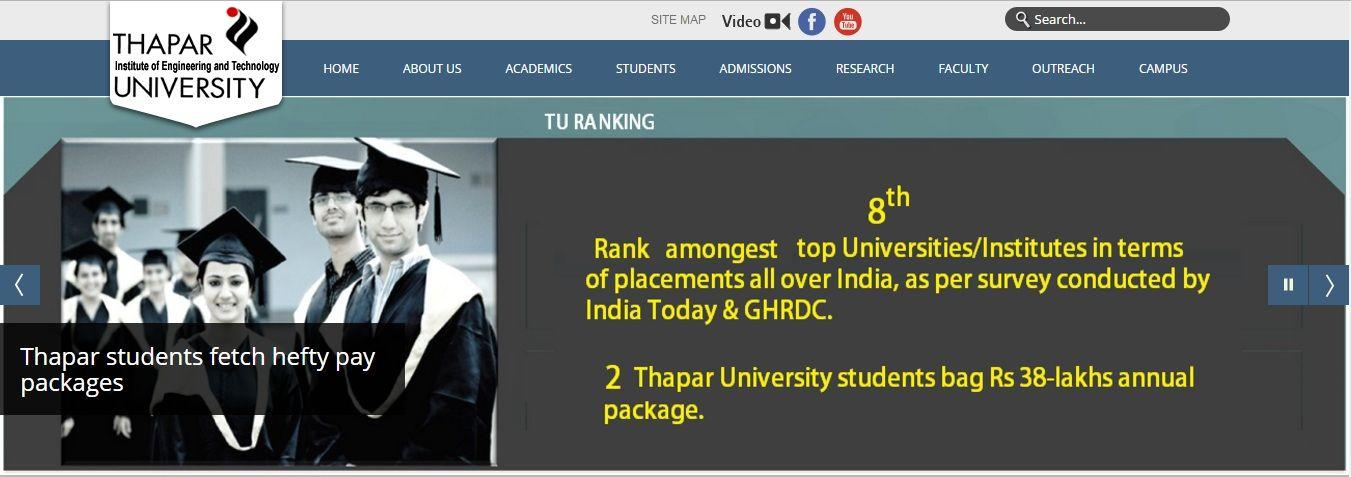 Institute of Engineering and Technology – Thapar University
