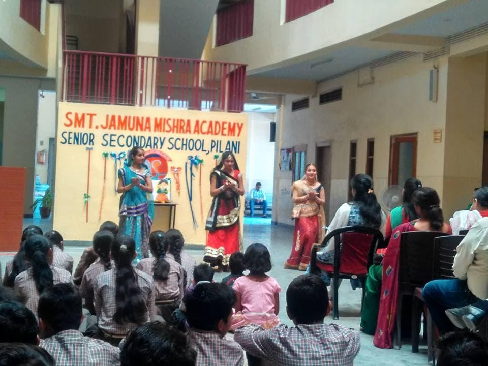 JMA Pilani Celebrates Rajasthan Diwas – Gangaur