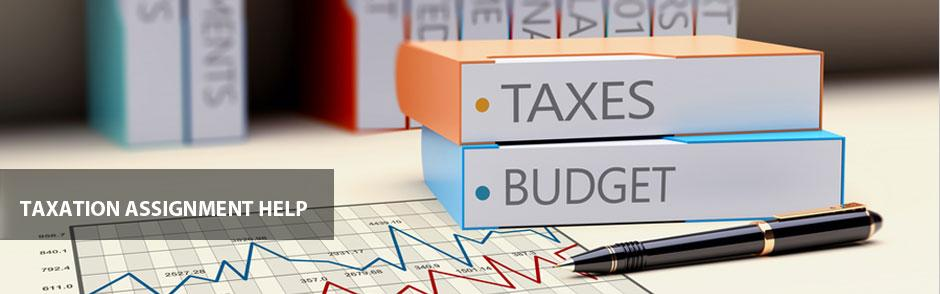 Superior Quality Taxation Assignment Help Services at Affordable Prices from BookMyEssay
