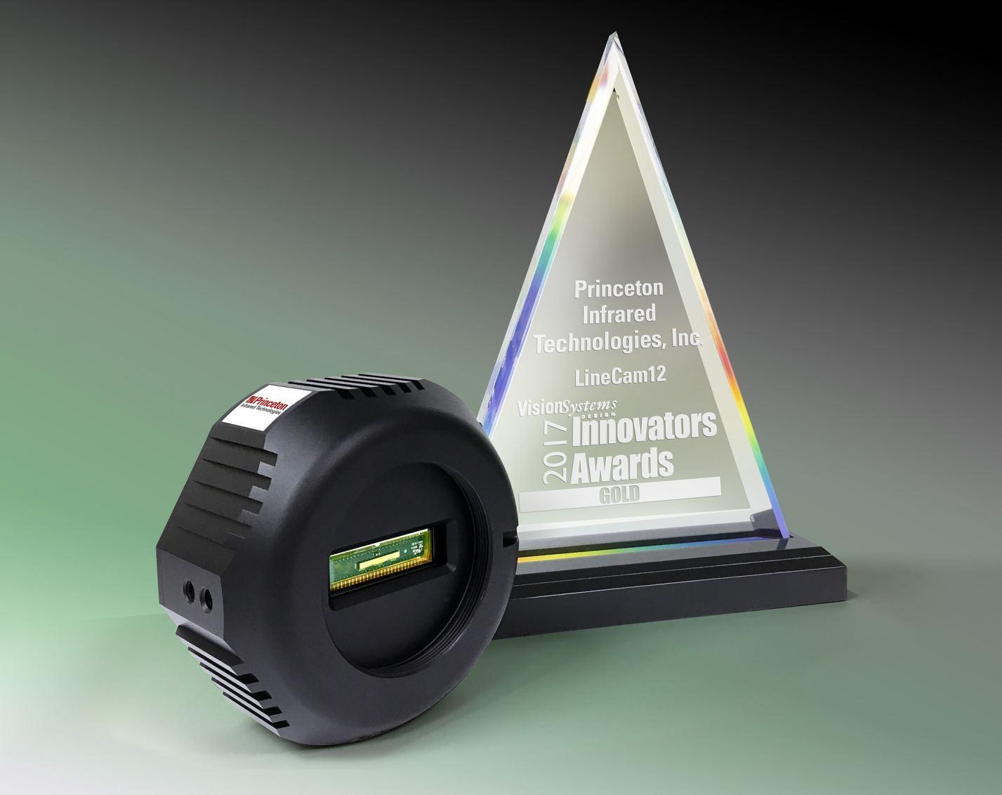 Princeton Infrared Technologies Receives Vision Systems Design's Gold Level Innovators Award 2017