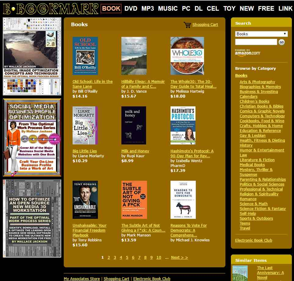 Six-Figure Value e-Book Dot Coms Released at Auction for Low Five-Figure Prices
