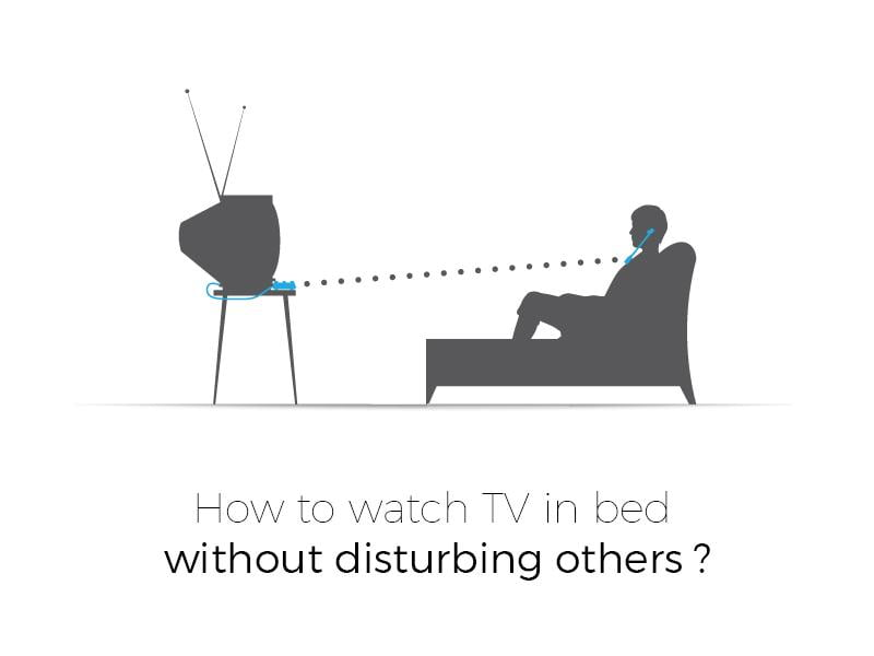 How to Watch TV in Bed without Disturbing Others