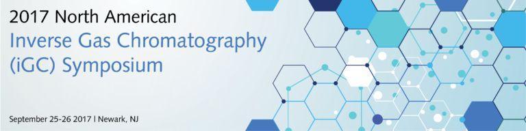 2017 Inverse Gas Chromatography Symposium