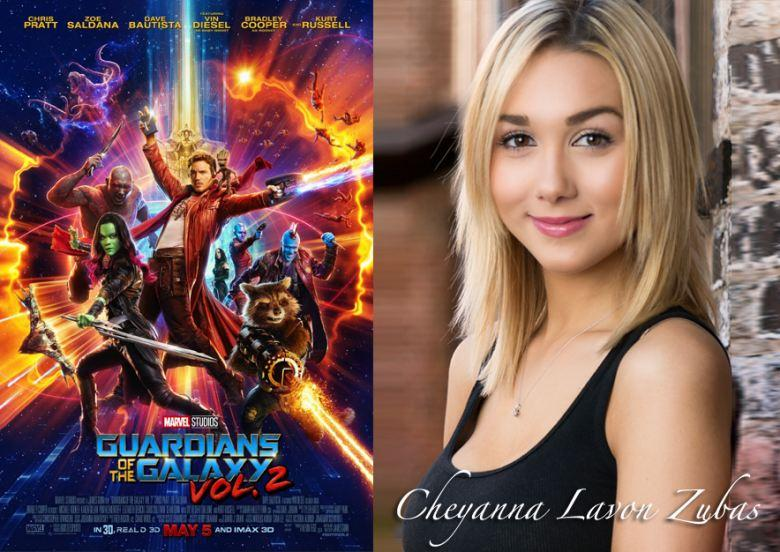 Guardians Of The Galaxy Vol. 2, Featuring Cheyanna Lavon Zubas, Premieres May 5th