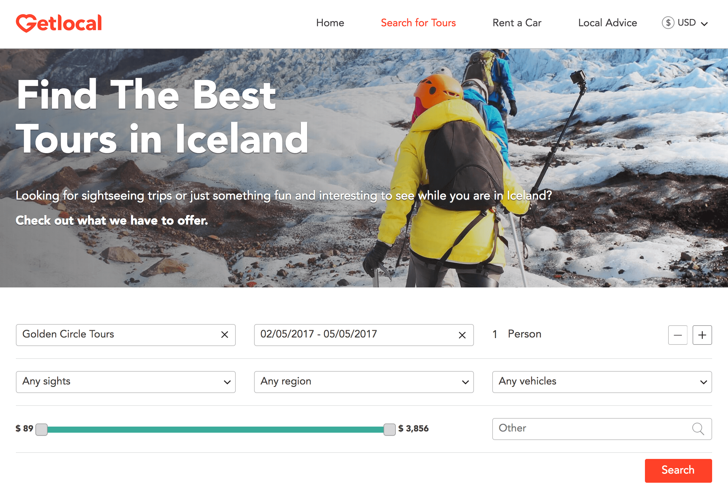 GetLocal launches new search engine for tours in Iceland