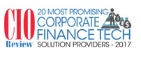 "OnPay Solutions Named One of ""20 Most Promising Corporate Finance Tech Solution Providers 2017"""