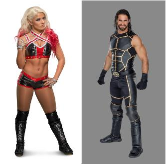WWE® Superstars Seth Rollins® and Alexa Bliss™ Added to Wizard World Comic Con Des Moines