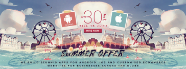 TekkiWebSolutions.com – Announcing Summer Offer for E-Commerce Websites and Mobile App Development