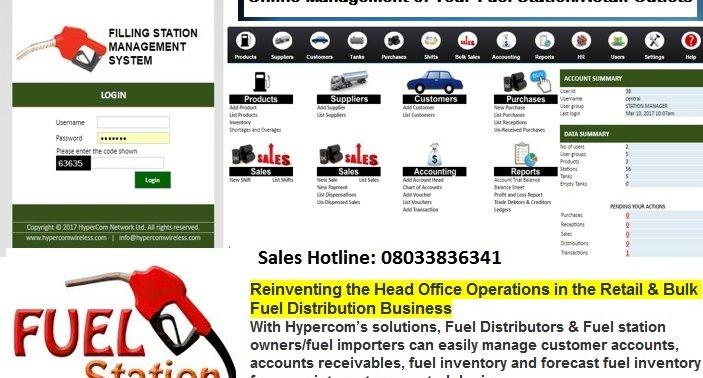 A.A. Rano Oil & Gas Fuel Stations across Nigeria goes live on HyperCom Fuel Station Mgt Software