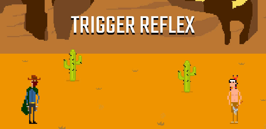 Trigger Reflex – A Western themed duelling game released for iOS and Android