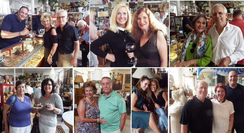Celebrity Friendship Leads to Wine Tasting at Sarasota Trading Company