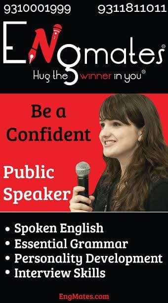 "Engmates Launching ""Public Speaking Course"" in Delhi"