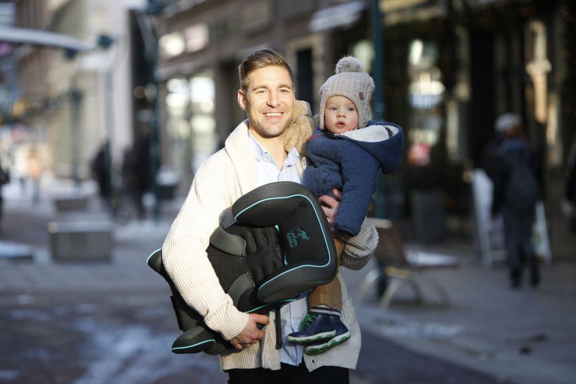 New Urban Kanga portable car seat targets urban parents with changing needs