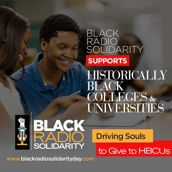 Stay Woke for Black Radio Solidarity Day 24-Hour RadioThon To Benefit HBCUs June 1-2