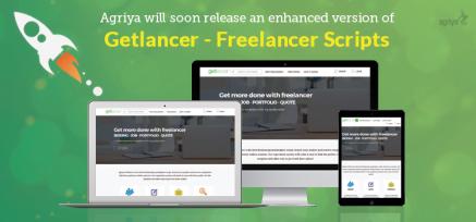 Agriya will soon release an enhanced version of Getlancer – Freelancer Scripts