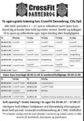 Nyt CrossFit Center i Aalborg tilbyder gratis træning for børn og voksne