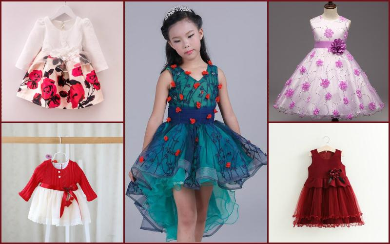 82bf3d174bf5 Kids Party Wear Dresses Collection 2017 For Boys and Girls by Pink Blue  India