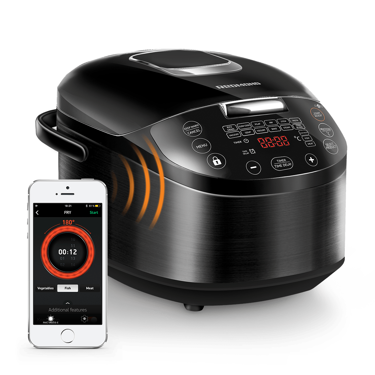 Enjoy your dinner in one click with the REDMOND multicooker SkyCooker M800S-Е