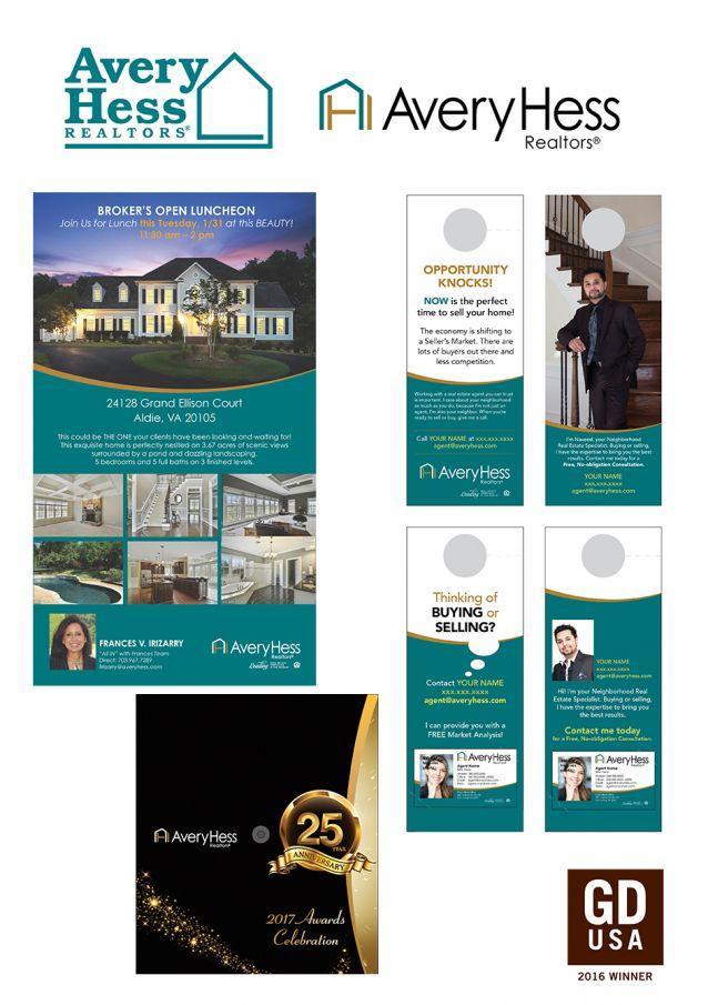 AveryHess, Realtors® Wins Awards For New Logo Design and Marketing Materials