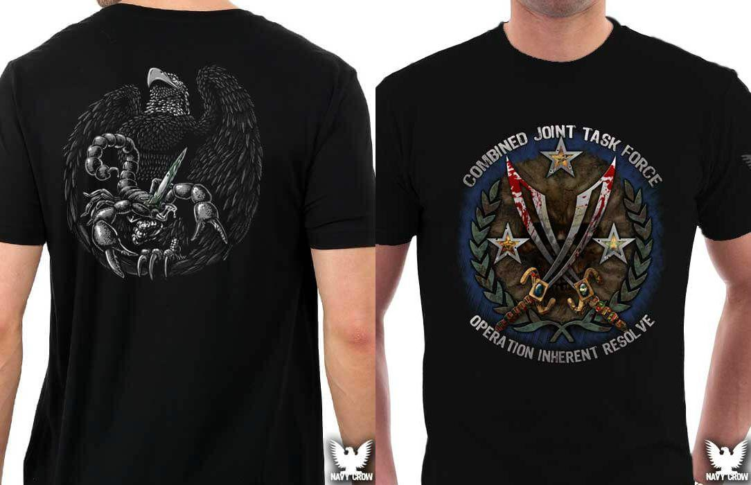 Operation Inherent Resolve: Two New Designs from Navy Crow!