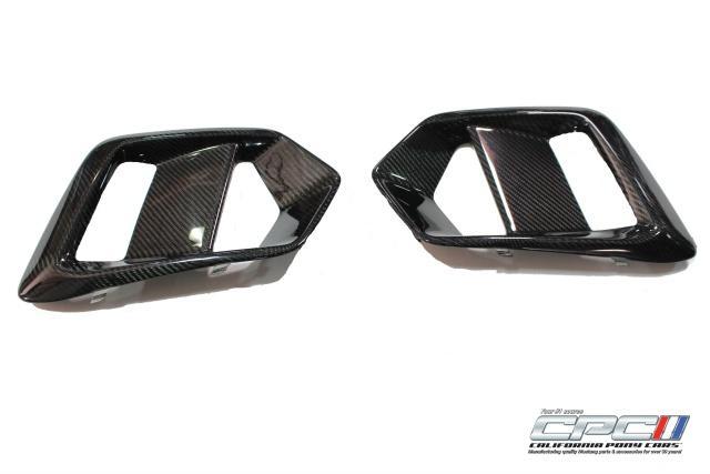 2016-2017 Ford Focus RS Carbon Fiber Fog Light Bezel Replacements