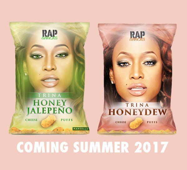 Rap Snacks Features Platinum Selling Female Rapper Trina