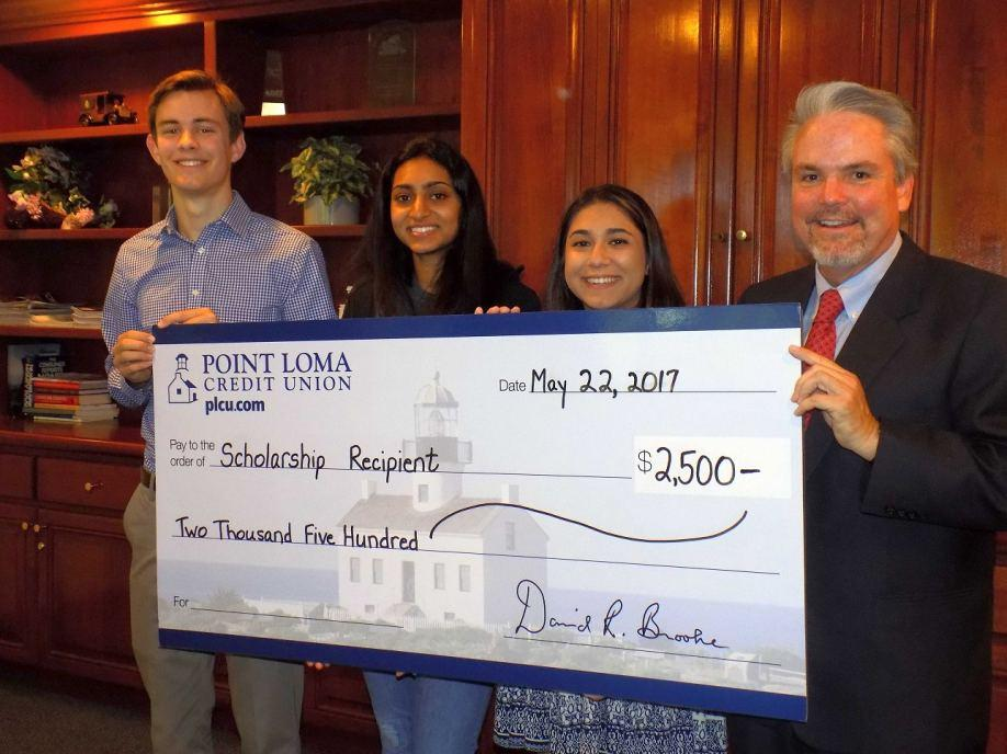 San Diego Students Win $2,500 Point Loma Credit Union Scholarships