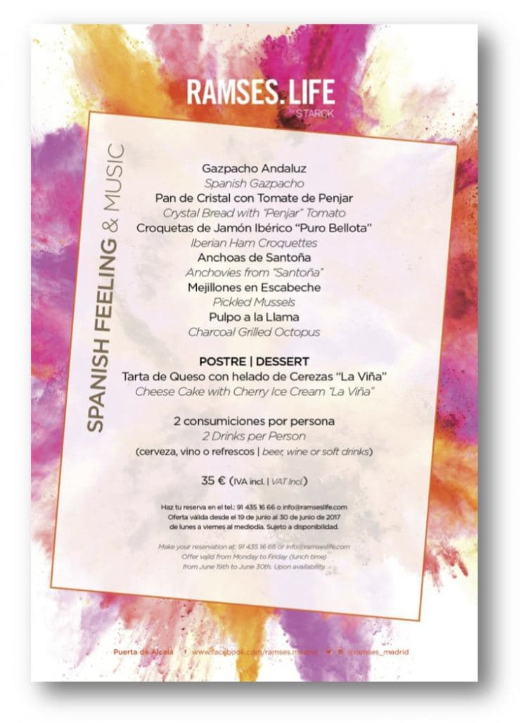 Ramses.life: Spanish Food And Fun For World Pride Madrid
