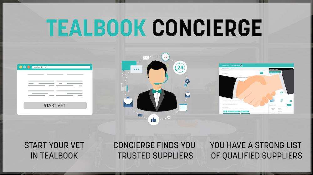 tealbook Announces the Launch of their Concierge Service: White Glove Supplier Discovery