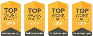 Dev Technology named as a Top Workplace for the fourth year in a row by The Washington Post