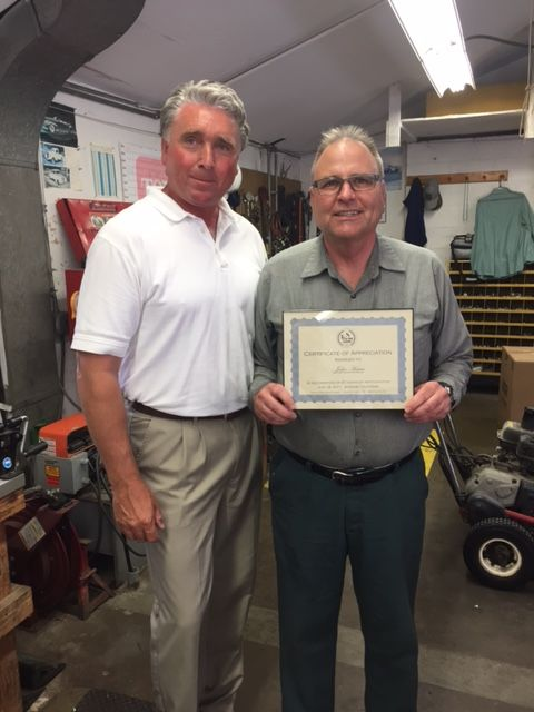 Local Charitable Organization honors Big Canyon Country Club as Employer of the Year