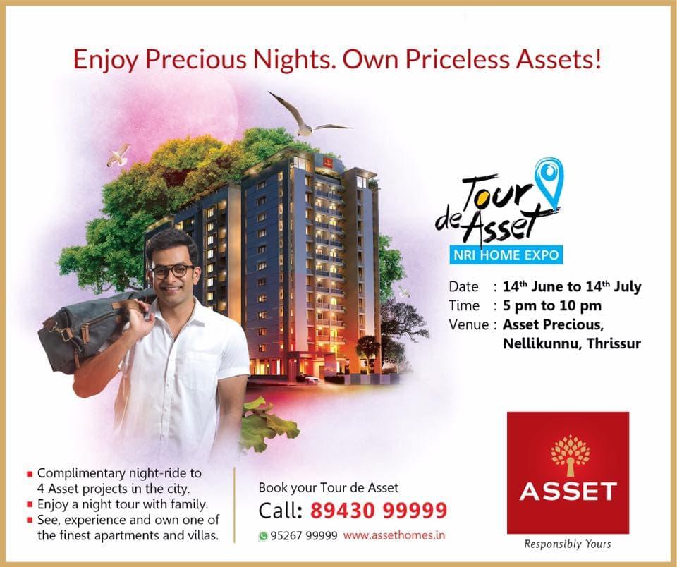 Enjoy Precious Night with ASSET Homes