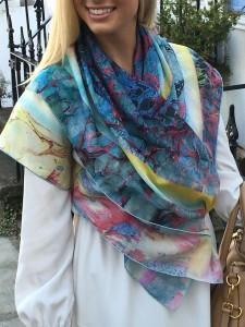 Ellebelle Announces Ultra Chic Scarf Collection Designed to Spread Social Awareness, Empower Women, and Give Back