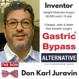 Don Karl Juravin | Gastric Bypass ALTERNATIVE