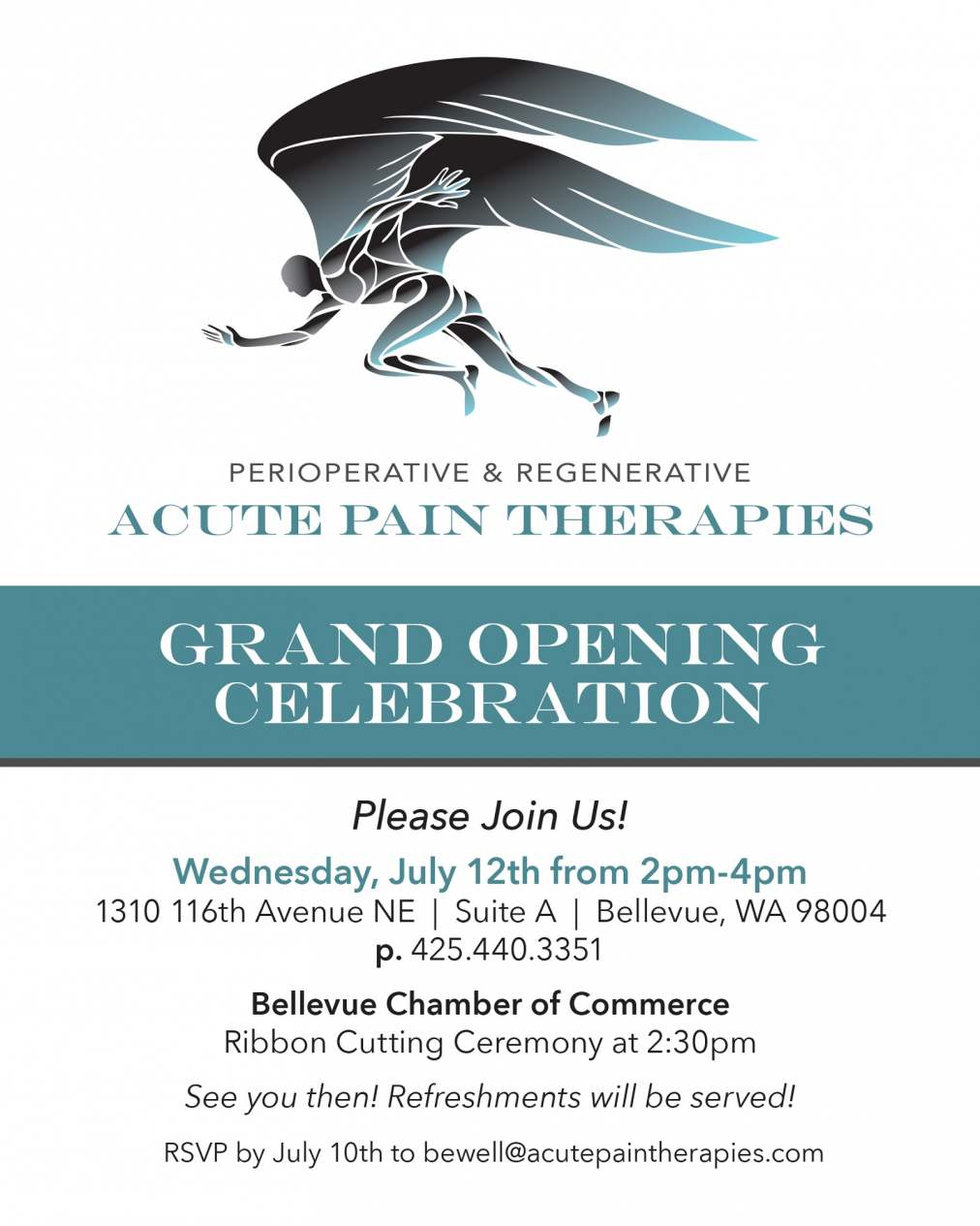 Acute Pain Therapies Celebrates Grand Opening in Bellevue, WA