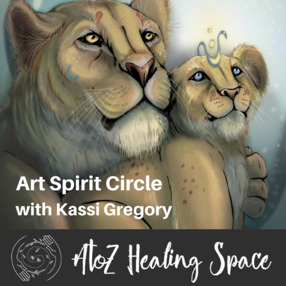 Online Spiritual Art Class Starts July 17