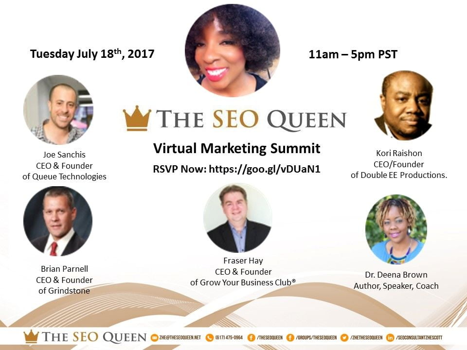 Noted Marketing Professional Launches The SEO Queen Virtual Summit